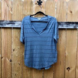 Madewell loose fitting blue t-shirt size M EUC.